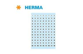 PREPRINTED LABELS HERMA N.4128